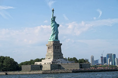 Statue of Liberty (wildbloom2020) Tags: nyc travel ny newyork statue skyline buildings cityscape outdoor tourist statueofliberty touristattraction travelphotography placestosee