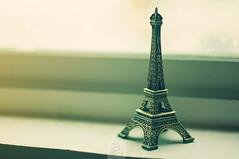 Day 181.365 - Souvenir from Paris (anshu_si) Tags: paris 50mm miniature metallic f14 eiffeltower nikon50mm14 afsnikkor50mmf14g