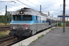 SNCF 72189 (Will Swain) Tags: travel france station train de french europe gare north transport july rail railway trains des east seen railways 13th français société parisian fer sncf nationale 2015 chemins 72189 noisylesec