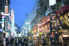 UenoTokyo (Iyhon Chiu) Tags: street japan night japanese tokyo ueno busy d750     okachimachi 2015   bustlingstreet