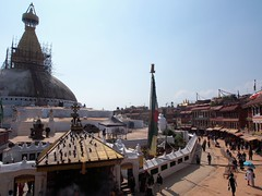 Boudhanath Stupa Restoration (Gypsy Cowboy) Tags: nepal kathmandu boudhanath