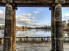 The Lake at Hever Castle (neilalderney123) Tags: ©2016neilhoward hever lake landscape water cold olympus englandkent