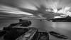 St Monans Pier - Scotland (Jan Hoogendoorn) Tags: saintmonans scotland unitedkingdom gb pier le longexposure bw zw blackandwhite zwartwit