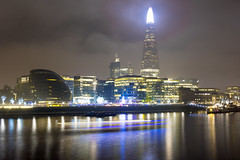 The Shard (358/366) (AdaMoorePhotography) Tags: nikon landscape light london night nighttime d7200 18105mm