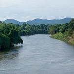 River Kwae Noi passing Prasat Mueang Singh historical park in Kanchanaburi province, Thailand thumbnail