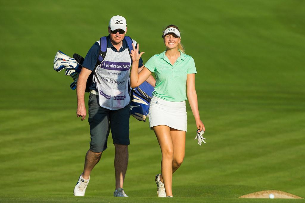 Cowan, Olivia Cowan bei den British Open, Golfsport.News, Golfsport.News