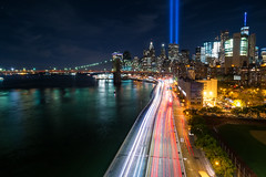 September 11th Tribute in Light, 2016 (BrianEden) Tags: xpro1 11th manhattan september11 newyork sept11 fujifilm ny lights 911 nyc newyorkcity fuji tributeinlight september sept unitedstates us