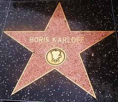 Hollywood Walk of Fame - Boris Karloff - Be afraid, very afraid (ramalama_22) Tags: los angeles la hollywood walk fame star boris karloff horror movie actor