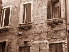 Venice, Italy VII (RoccerSoccerDave) Tags: italy venice sepia canon sx220hs street powershot