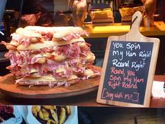 You Spin My Ham Right Round Chalk Board The Strand London Jan 2017 (symonmreynolds) Tags: 新年快乐 gongheyfatchoy gongxifacai happychinesenewyear youspinmyhamrightround chalkboard thestrand london january 2017