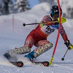 Lauren Koper (Black Dogs) U16 Sun Peaks SL PHOTO CREDIT: Christopher Naas