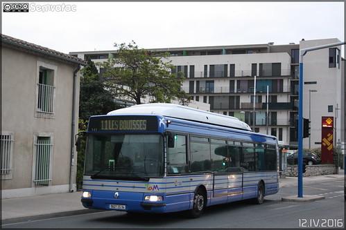 Renault Agora S GNV - Tam Montpellier 3M (Transports Alternatifs de Montpellier Méditerranée Métropole) n°143