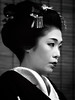 Yukako-san-- Monochrome Portrait (Rekishi no Tabi) Tags: kyōtoshi kyōtofu japan jp geiko geisha yukako gion gionkobu monochrome sony
