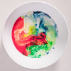 ODC A Bowl of... Swirling Color (lclower19) Tags: odc color milk fooddye bowl closeup white red yellow green blue week2 52in2017 square