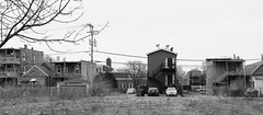 the Landscape of the West Side - Chicago - 14 Jan 2017 - 5D IV - 083 (Andre's Street Photography) Tags: chicago14jan20175div urban blight rundown apartment buildings rearporches stairs vacant abandoned westside chicago lawndale landscape desolation desolate bleak chicagoist chicagoreader chicagomagazine blackandwhite bw bwphotography zwartwit noiretblanc blancoynegro street straat alley steeg canon eos 5div ef1740 zoom lens cityscape scape urbanlandscape