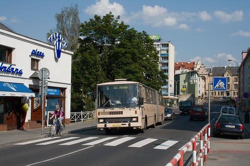 Karosa B741 č.211 DP Děčín