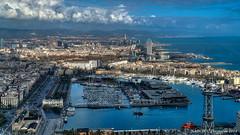Barcelona, Spain: Darsena Nacional Marina (nabobswims) Tags: barcelona catalonia catalunya darsenanacional es españa hdr highdynamicrange lightroom marina nabob nabobswims photomatix sel18105g sonya6000 spain