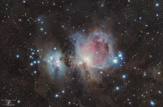 M42 Orion Nebula with Astrotech AT65EDQ and Nikon D7000