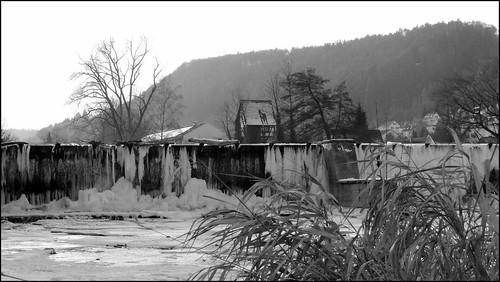 27.01.2017 - Eiszeit in Horb a.N. -