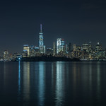 Nachtaufnahme Skyline New York HDR