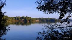 Lake Alimini Grande (Frank Abbate) Tags: lake lago alimini grande otranto salento lecce apulia puglia italia italien italy trees water acqua alberi artificiale sky cielo south southern sud canon eos 80d