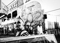 My fair lady. (pmpiasecki) Tags: documentary blackandwhite 28mm composition monochrome grainy ricohgr people portrait monotone