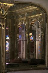 Interior of Mehrangarh fort thro' mirror (me suprakash) Tags: jodhpur rajasthan mehrangarhfort interior mirror throughthemirror nikond90 nikon18200mm travelphoto indianheritage fort architecture reflection
