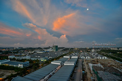 Shah Alam Sunset (Shamsul Hidayat Omar) Tags: tourism photography high interesting nikon scenery dynamic places scene malaysia omar range hdr selangor shah alam hidayat greatphotographers shamsul photoengine oloneo d800e