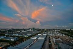 Shah Alam Sunset (Shamsul Hidayat Omar) Tags: tourism photography high interesting nikon scenery dynamic places scene malaysia omar range hdr selangor shah alam hidayat greatphotographers shamsul photoengine oloneo d800e