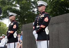 Marine Corps Sunset Parade  (263)16 June 2015 (smata2) Tags: usmc military marinecorps arlingtonva marinecorpsmemorial marinecorpssunsetparade