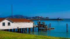 Playing tourist at home... (Prince Bart) Tags: sanfrancisco california usa art digital canon eos misc parks bayarea fishermanswharf dslr hydestreetpier sfmnhp goldengatenationalseashore 7dmarkii eos7dmarkii