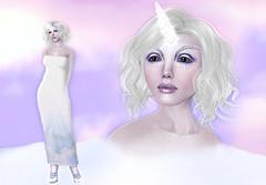 1L - Litte me - Midsummer Unicorn (Alea Lamont) Tags: me hair midsummer mesh skin little body avatar dream avatars fantasy tiny nights unicorn hunt magika ndmd