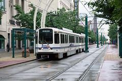 NFTA 106 in Buffalo, Main Street DSC_4044 (foto_DM) Tags: museum buffalo mainstreet metro trolley connecticut tram strassenbahn nfta gelenkwagen tokyucarcorporation