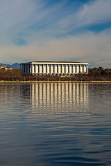 national library of australia (ghee) Tags: lake monument water architecture canon exterior library australia canberra act 6d nationallibrary lakeburleygriffin ghee gwp guywilkinsonphotography