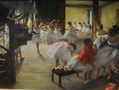 Edgar Degas - The Dance Class, 1873 at National Gallery of Art Washington DC (mbell1975) Tags: usa art museum america painting french washingtondc smithsonian us dc washington dance districtofcolumbia gallery museu unitedstates fine arts musée class musee institute wdc national edgar impressionism museo degas impression impressionist muzeum nga finearts the beaux beauxarts müze gallerie 1873 musum