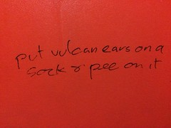 """And the award for """"worst slash fiction found in a Brighton pub toilet"""" goes to…"""