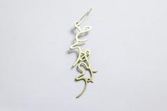 tokyo (saorikunihiro) Tags: japanese earring hiragana accesory