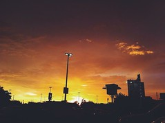 (Lupita Campos) Tags: sunset atardecer iphone iphone4 vscocam