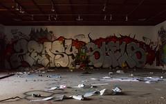 Louie the Fly (Locke Nicholls) Tags: college graffiti arts brisbane hills seven queensland morningside urbex tafe
