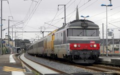 BB67554 - 67516 - Intercits 3855 (Oliver_A) Tags: train infra sncf corail bb67400 bb67000 intercites bb67500 bb67554 bb67516