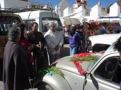 Car blessing, Copacabana, Bolivia