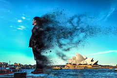 Sydney (Ricky Kwok ARPS) Tags: travel tourism silhouette landscape religious freedom golden haze warm view place sydney scenic tranquility adventure holy serenity sacred vista destination serene backlit elevated spiritual tone tranquil atmospheric breathtaking hou