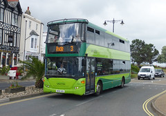 GA SV 1105 - HW58ARU - RYDE - TUE 4TH AUG 2015 (Bexleybus) Tags: 3 bus station coast south route southern vectis 1105 isle wight scania ryde goahead of omnicity hw58aru