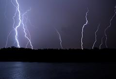 2015-07-14 Lightning 015 (RayDennisPhotography) Tags: lake storm weather night landscape other multipleexposure fordlake ypsilanti lightning