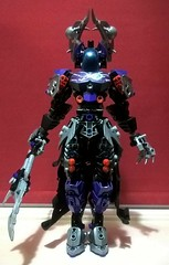Nyctoria Hyperia - Wielder of the Eighth Sign (Self-MOC V13) (Valkyrion Starsharde) Tags: bionicle g1 g2 hero factory ccbs lego god goddess deity great being zodiac star sign astrology samsara life suffering death rebirth cycle scorpio scorius constellation scorpion water self moc revamp