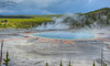 The Grandest Of All Hotsprings (Bill Maksim Photography) Tags: prismatic grand yellowstone national park nationalpark old faithful geyser hotspring colors photography summer winter spring bison bear grizzly hike trail wildlife camp gardiner west wyoming montana waterfall canyon fire lodge inn history maksim steam erruption volcano