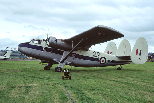 Scottish Aviation Twin Pioneer 3 XT610/22 Chivenor 5-8-72