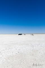 Makgadikgadi Saltpan - Feeling Small (Alec Lux) Tags: botswana makgadikgadi blue crust dry empty landscape lonely nature pan salt saltpan salty savannah sky