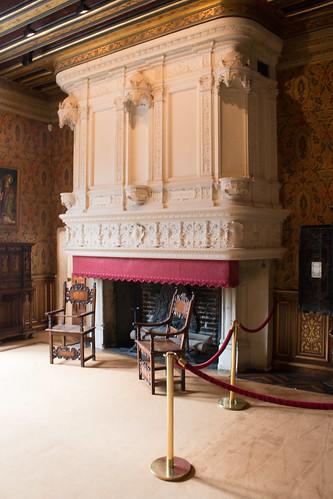 Chambre de François Ier au Château de Chenonceau