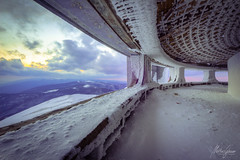 From angels bending near the earth (MGness / urbexery.com) Tags: lost place places urbex urban exploration lostplace urbanexploration abandoned decayed floor corridor ruine ruins forgotten dream abandones rusty urbexery creepy ice cold both planet snow dome circle arena battle eis schnee decay explorer rust sunset sunrise arctic monument budz